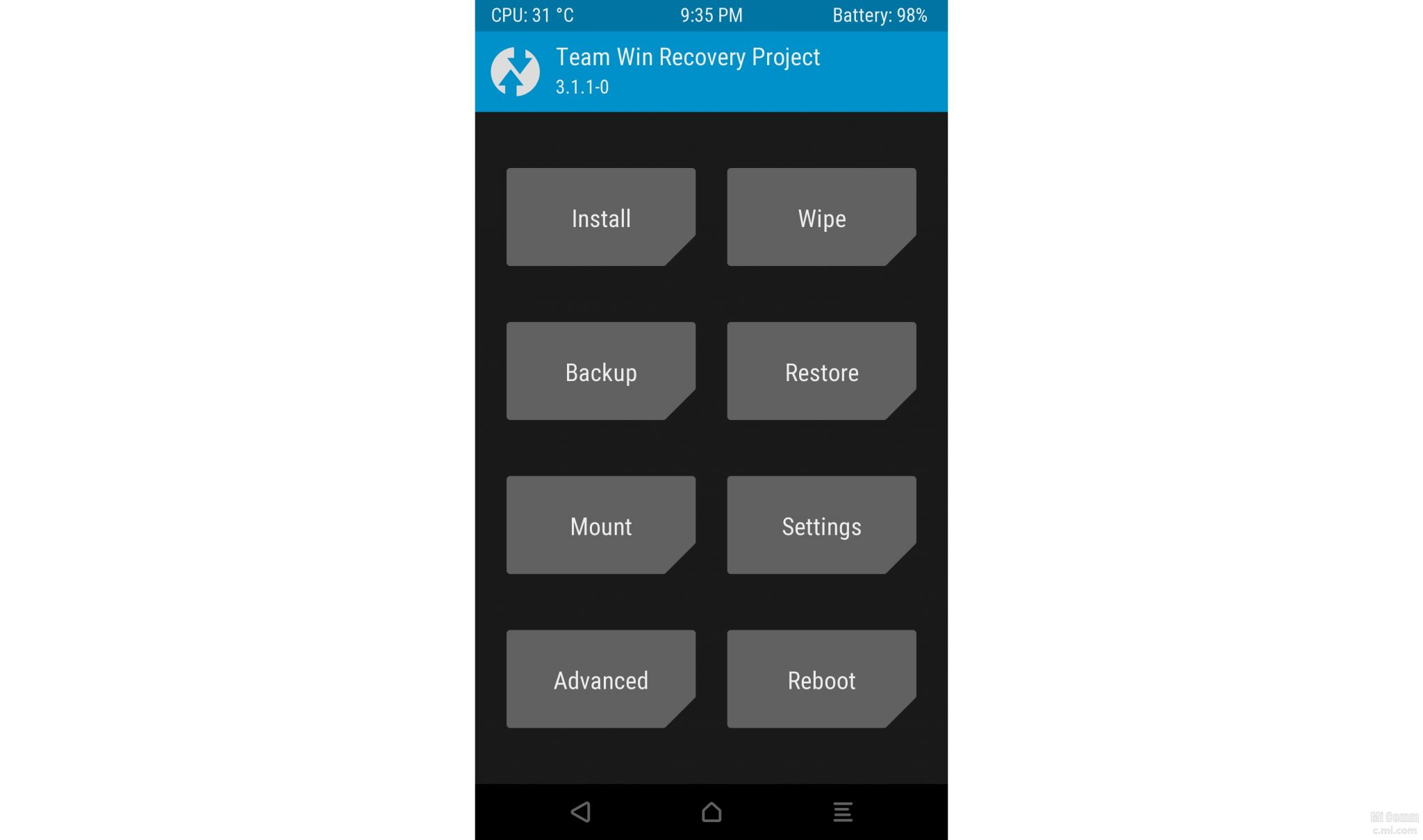Root Mi Phone with SuperSU without flashing TWRP Recovery permanently