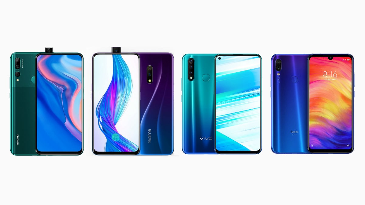 Huawei Y9 Prime 2019 vs Realme X vs Vivo Z1 Pro vs Redmi Note 7 Pro: Price, Specifications Compared