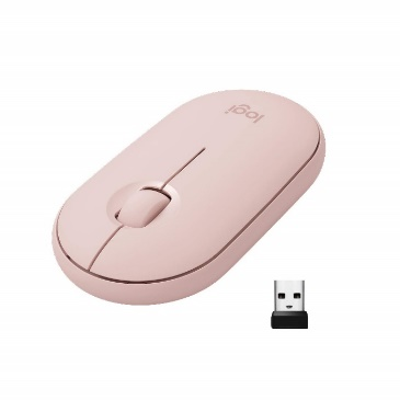 Amazon.in: Buy Logitech Pebble M350 Wireless Mouse with Bluetooth ...