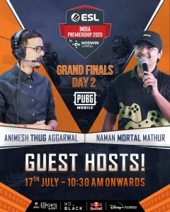 Grand Finale of ESL Premiership India
