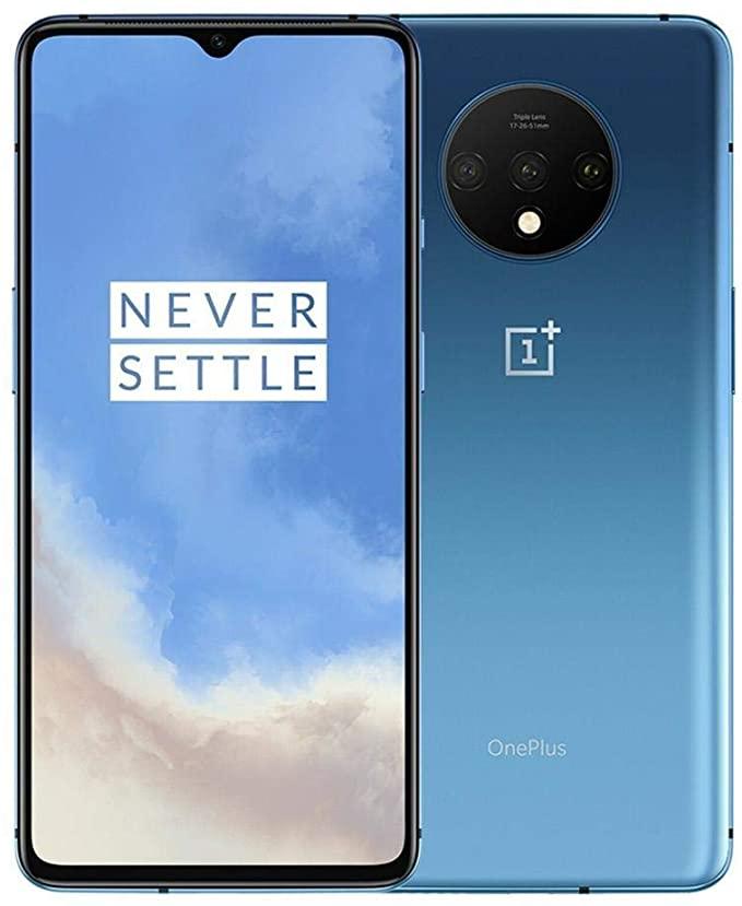 Amazon.com: OnePlus 7T HD1900 256GB, 8GB, Dual Sim, 6.55 inch, 48MP Main  Lens, Triple Lens Camera, GSM Unlocked International Model, No Warranty  (Glacier Blue 256GB+8GB): Electronics