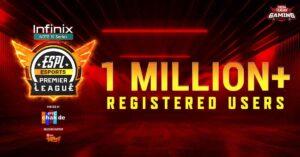 Esports Premier League 2021 hits 1 million registrations